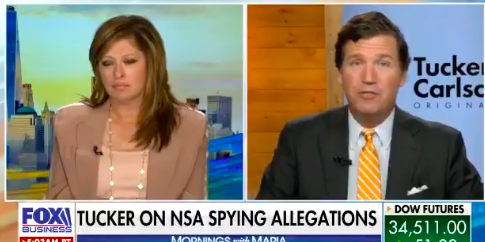 WATCH: Tucker Carlson shares new details on NSA spying claims
