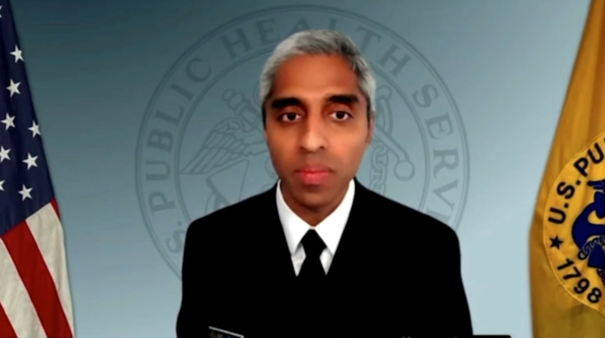 WATCH: Surgeon General says 'equity' is at the center of Biden's fight against 'health misinformation'