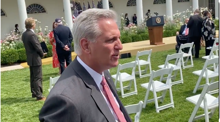 WATCH: McCarthy rips Cheney and Kinzinger as 'Pelosi Republicans'
