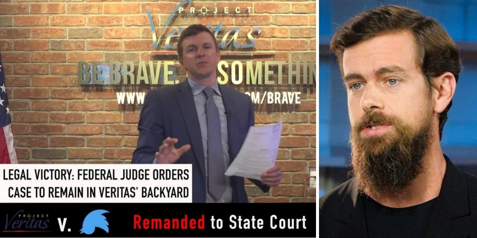 LEGAL VICTORY: Project Veritas founder James O'Keefe defeats Twitter's attempt to transfer case to friendly court