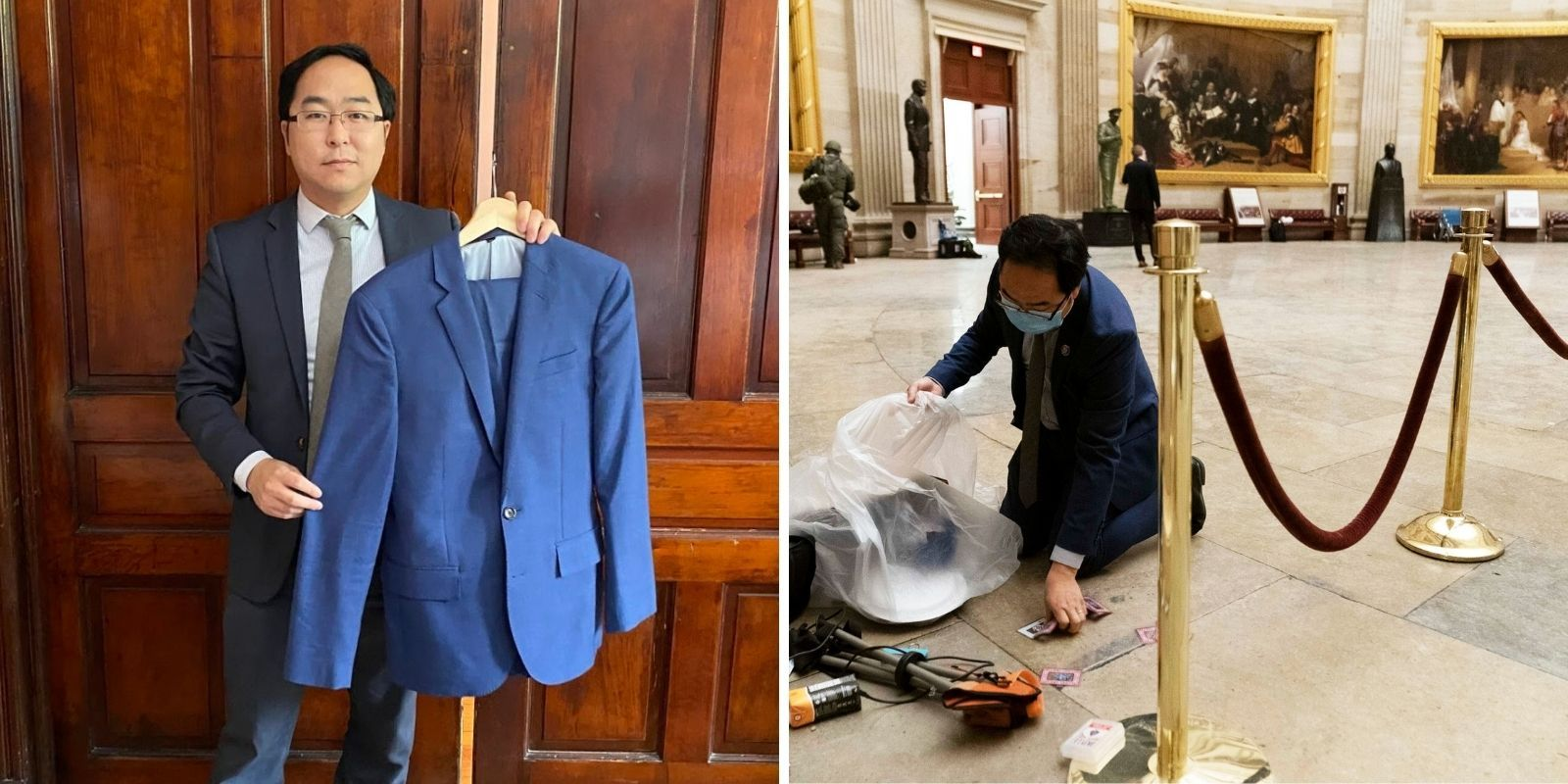 New Jersey congressman donates suit he wore during Jan 6 riot to the Smithsonian as museum artifact
