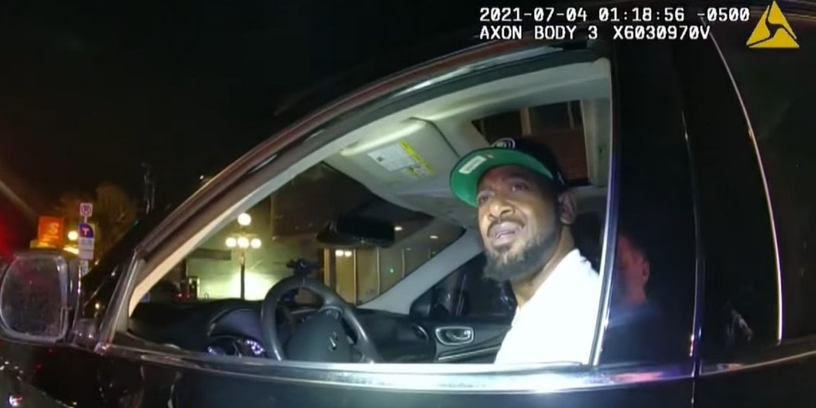 WATCH: Traffic stop footage released of Democrat state rep who falsely claimed he was ticketed for 'driving while black'
