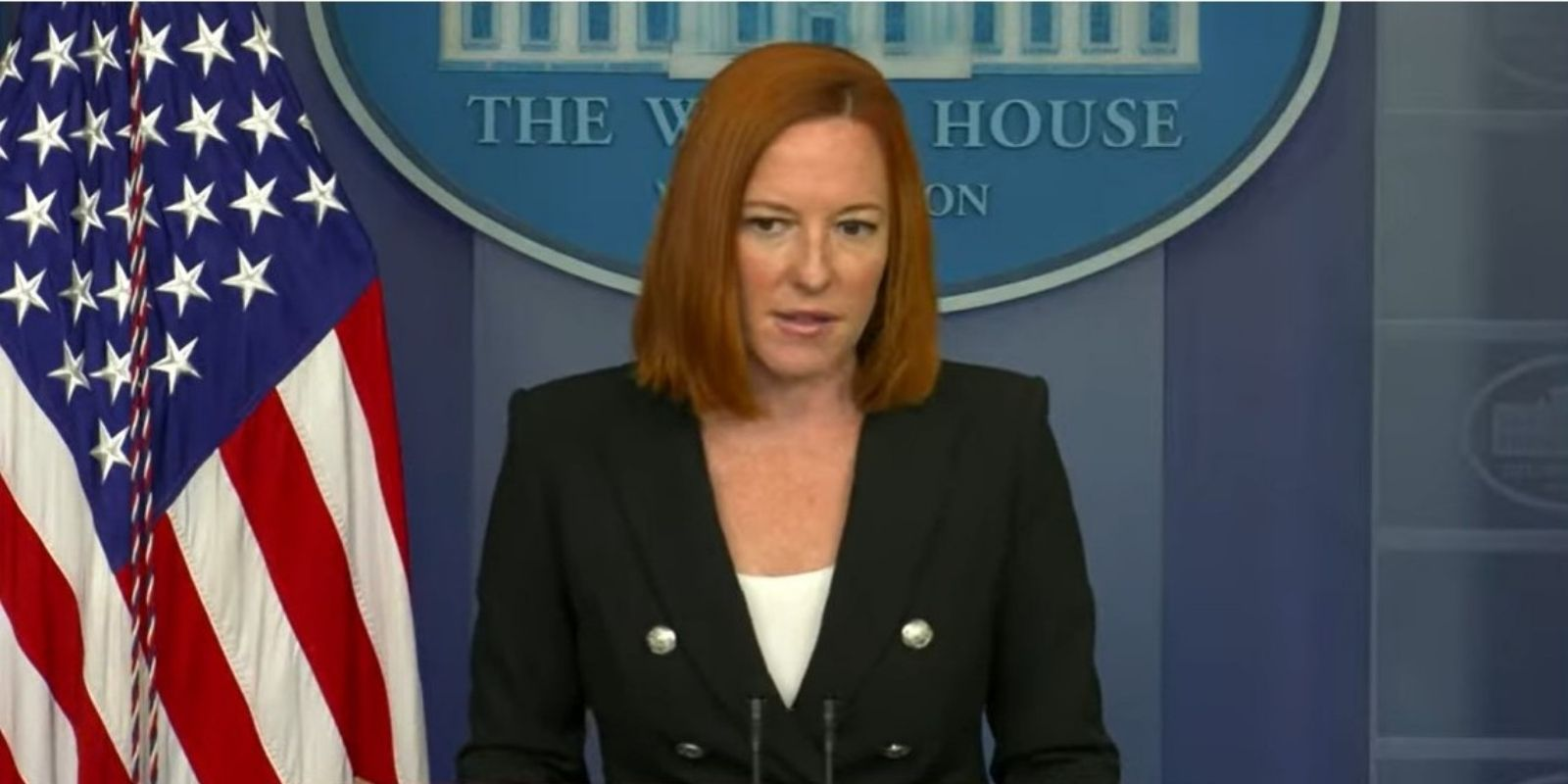 WATCH: Psaki says she would not characterize Texas Democrats' trip to Washington as a 'super-spreader event'