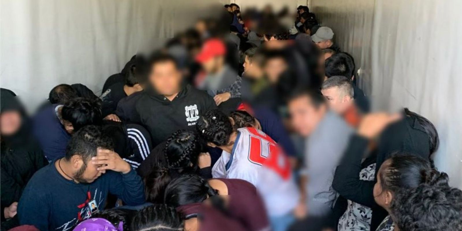 Texas state troopers discover over 105 illegal immigrants packed inside semi-truck