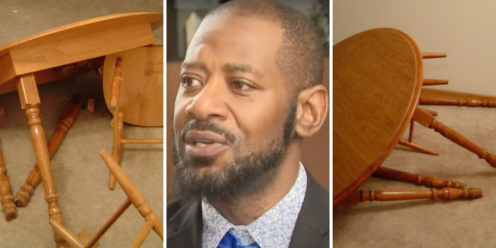 Photos reveal aftermath of Democrat state Rep. John Thompson's domestic assault on girlfriend