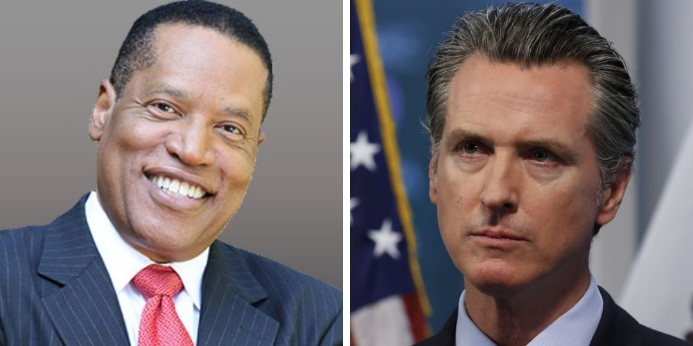 Larry Elder announces candidacy in California recall election, Newsom denied party affiliation on ballot