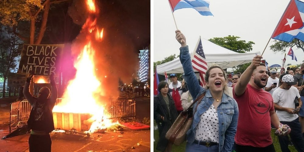 BLM comes out in support of the Cuban communist regime—'condemns the US'