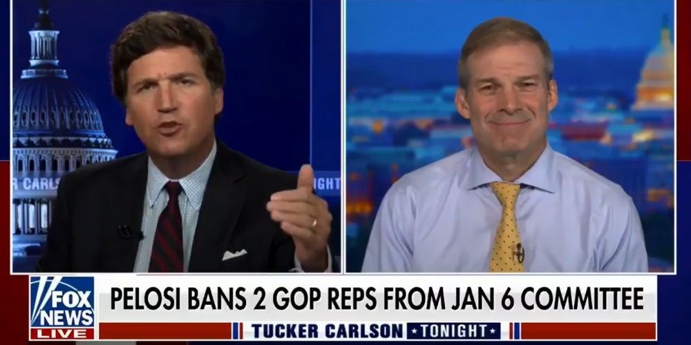WATCH: Rep. Jim Jordan SLAMS Pelosi's Jan. 6 committee, 'This is all political, and we've known that from the start'