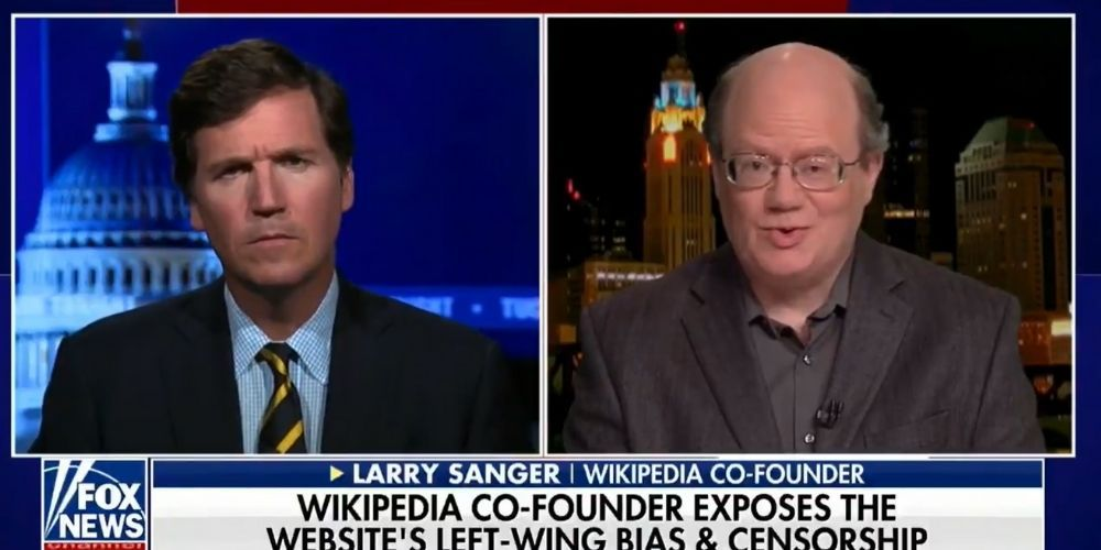 WATCH: Wikipedia co-founder tells Tucker Carlson he regrets creating the website