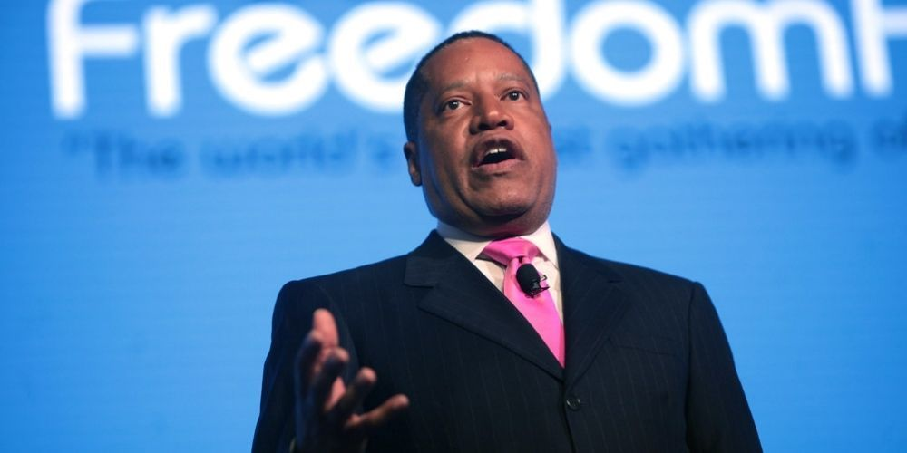 WATCH: Larry Elder slams critical race theory as 'narrative that pits blacks against whites'