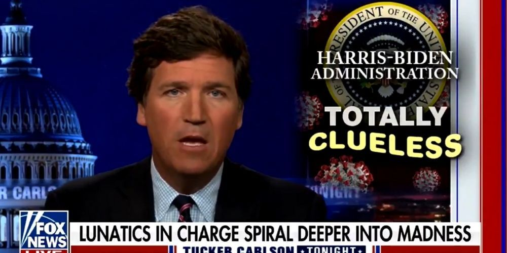 WATCH: Tucker Carlson rips power-hungry, safety-fetishizing Democrats using COVID for political gain