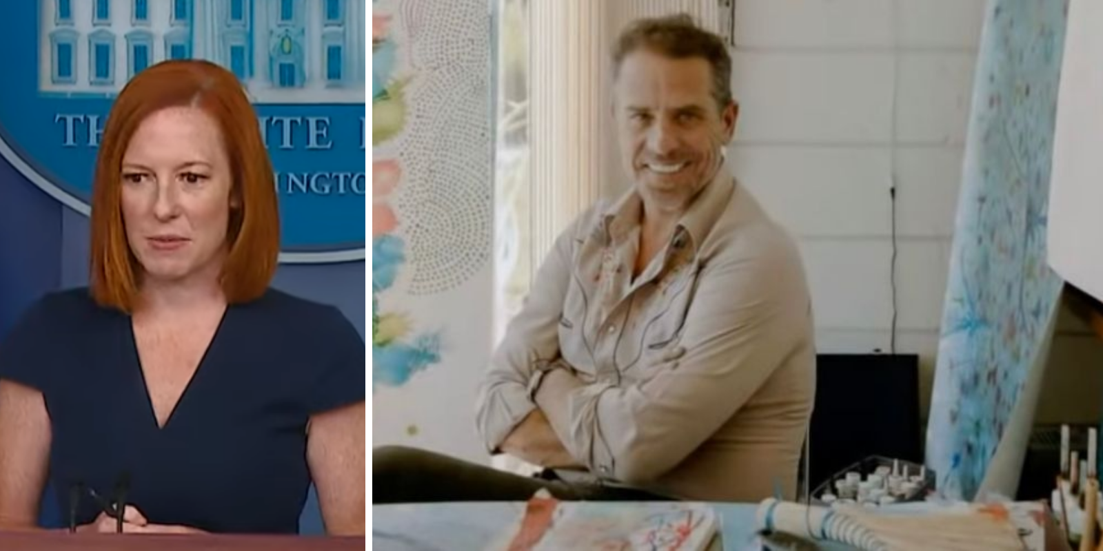 WATCH: White House defends policy of anonymous buyers for Hunter Biden's 'art'