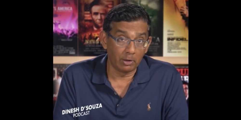 WATCH: Dinesh D'Souza says America's founding experiment is 'in trouble'