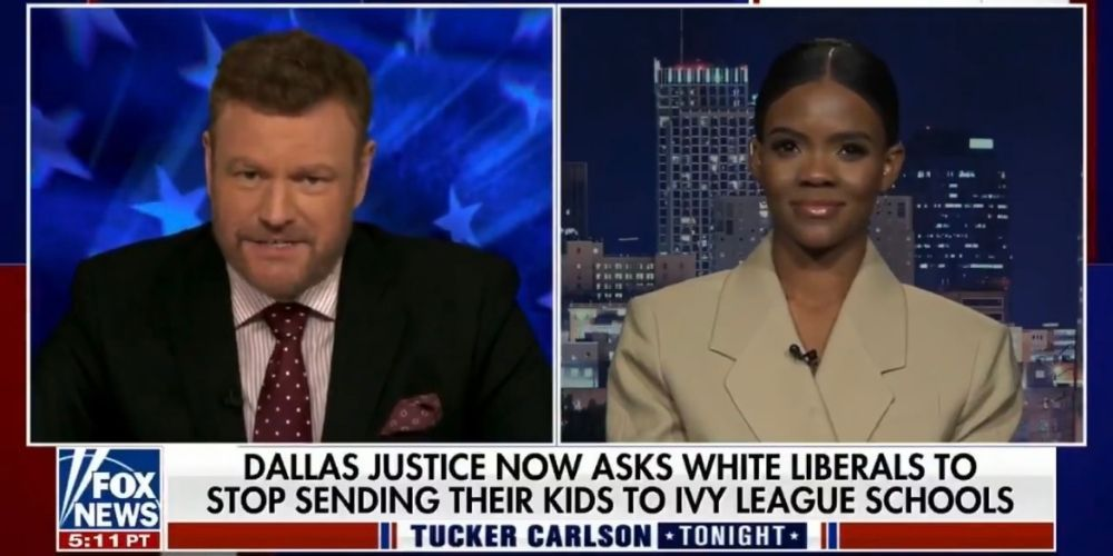 Candace Owens slams activist groups for pressuring Ivy League schools to get rid of white students