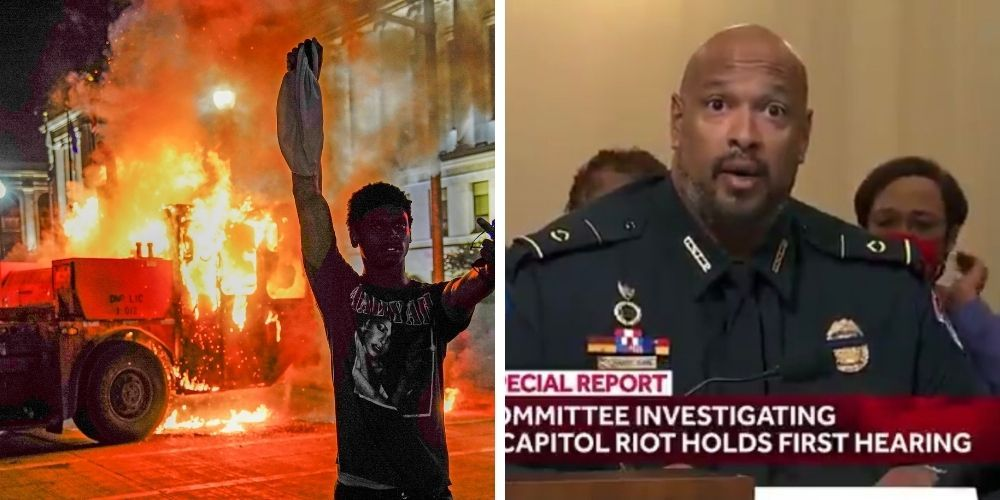 Capitol Police officer who testified at Pelosi's Jan 6 committee supported Kenosha riot, suggested Jacob Blake was murdered