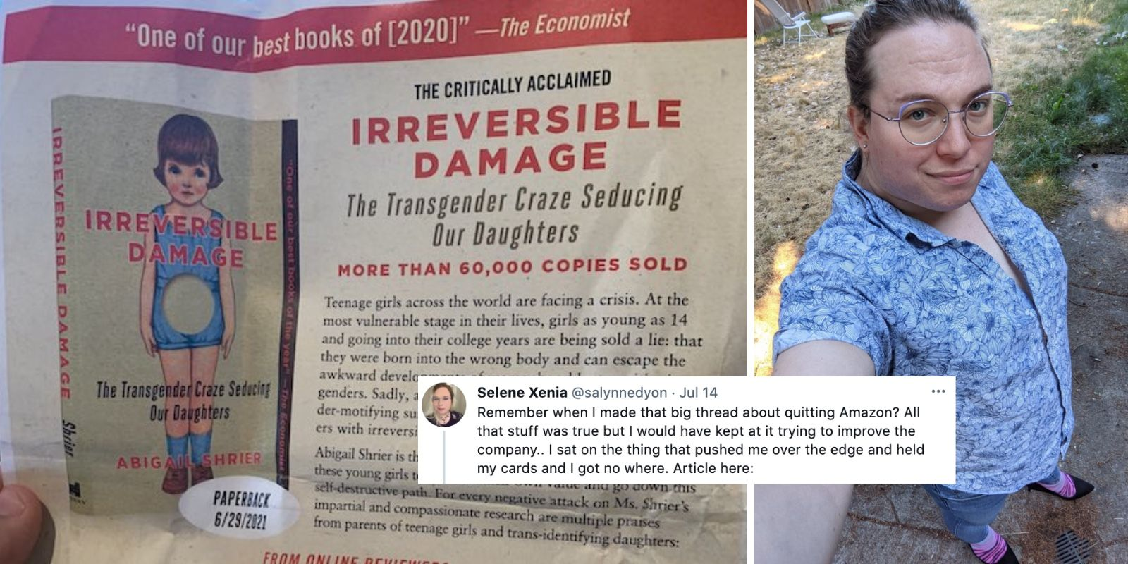 Amazon workers quit, booksellers apologize over book that seeks better mental health treatment for girls