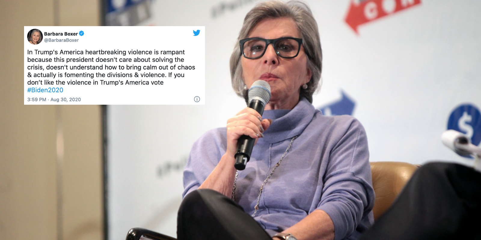 Former California Senator Barbara Boxer attacked and robbed of cell phone in Oakland neighborhood