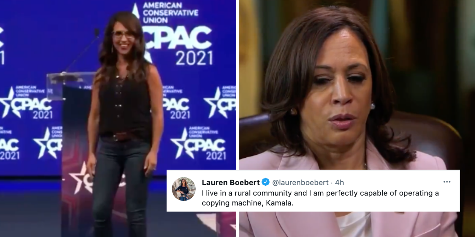 Rep. Lauren Boebert slams Kamala for saying it's 'almost impossible' for rural Americans to photocopy their ID