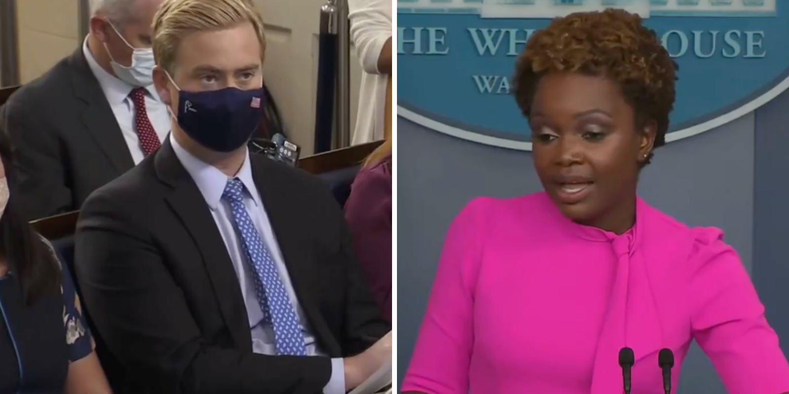 WATCH: Biden's reversal on masks has reporter asking 'why should we trust him now?'