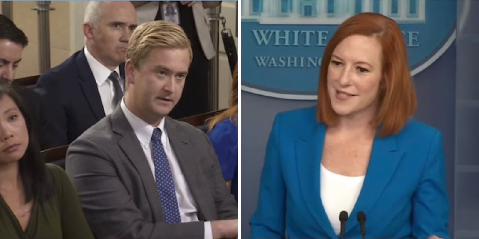 WATCH: White House defends masking the vaccinated after new CDC guidance