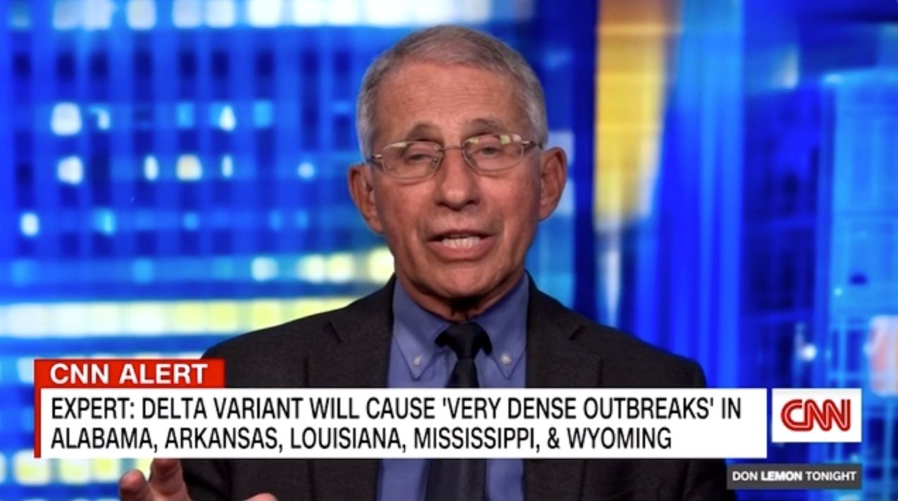 WATCH: Fauci says vaccine hesitancy will lead to 'two Americas'