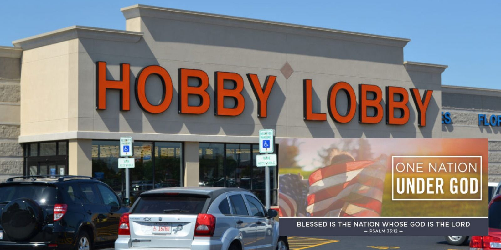 Hobby Lobby faces backlash after issuing ad advocating for the US to be 'one nation under God'