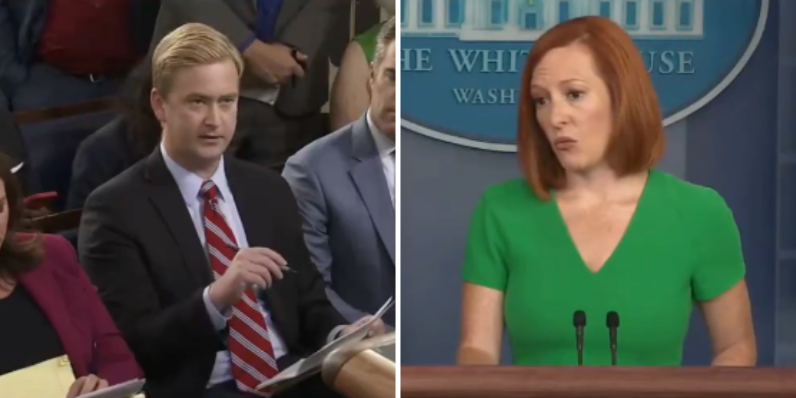 WATCH: Peter Doocy asks Psaki if Fauci should be censored and removed from social media for his 'misinformation'