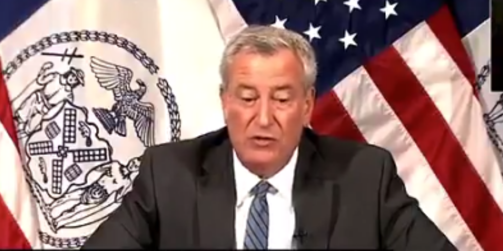 WATCH: De Blasio says Cuomo too distracted by sex scandals to govern New York
