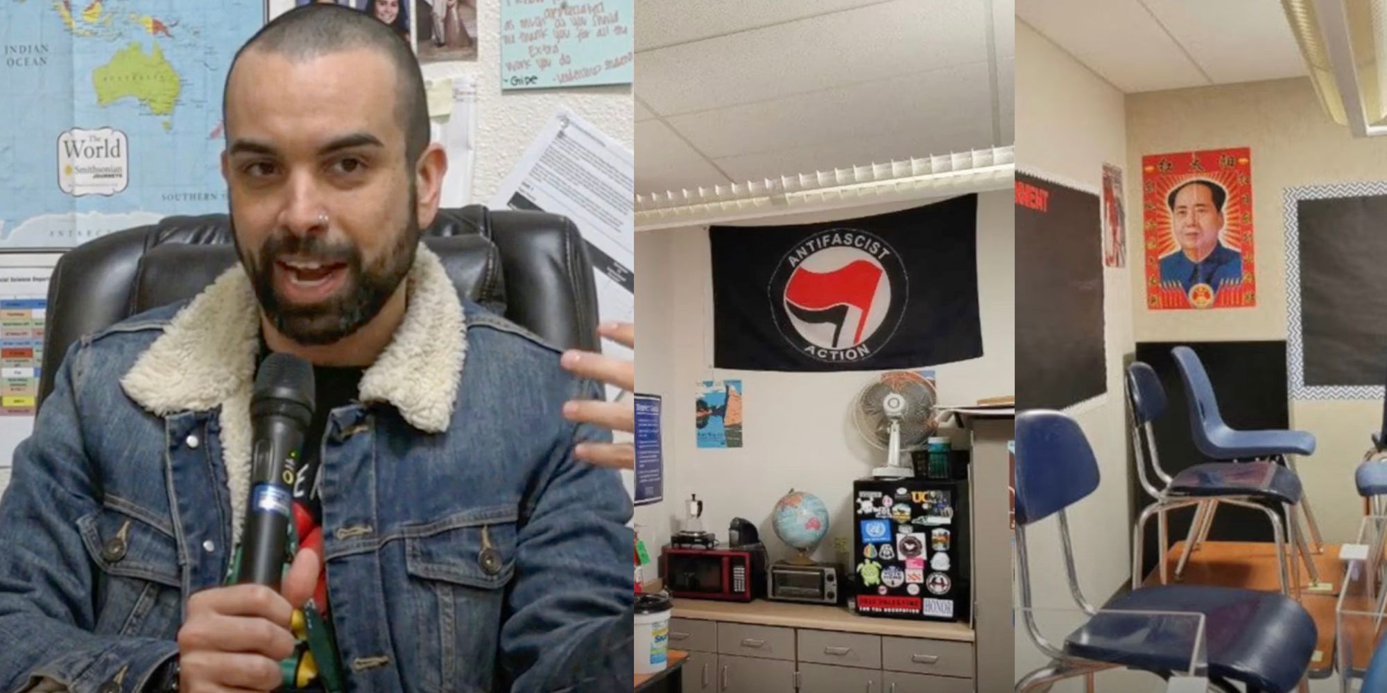 Shocking undercover video reveals Antifa high school teacher admitting to indoctrinating students