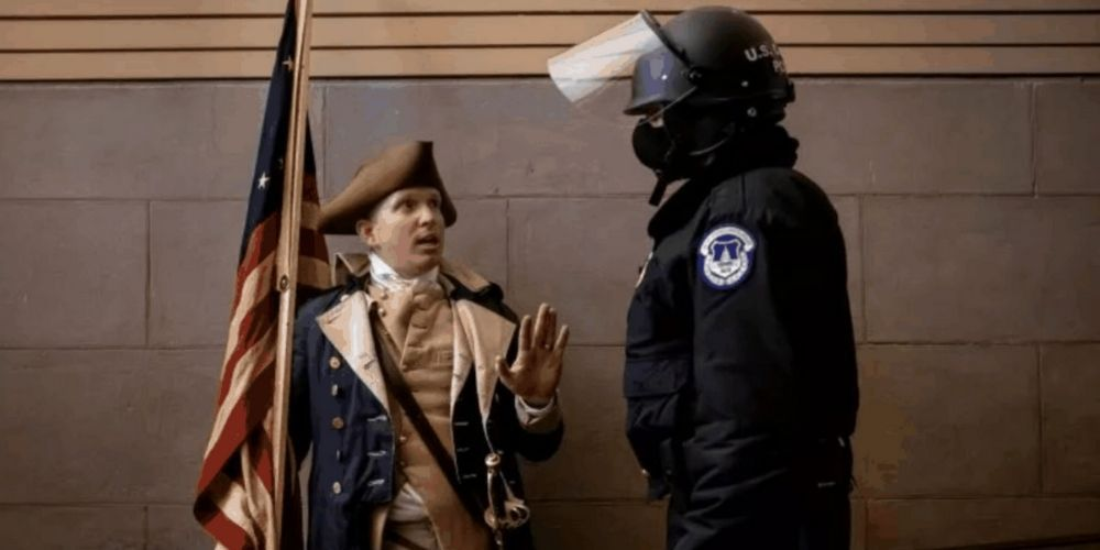 Missouri man arrested after entering Capitol on January 6 dressed as George Washington