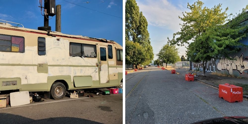 Seattle residents fed-up with homeless encampments fined by city for taking back their streets