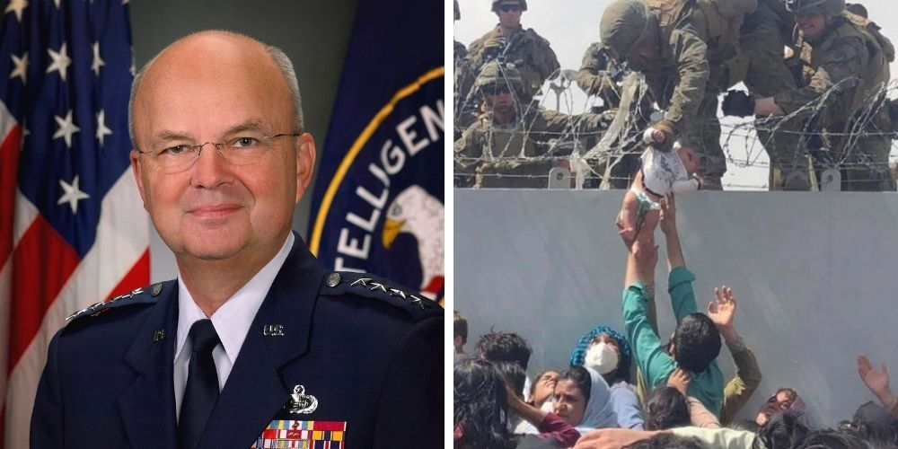 Former NSA and CIA Director supports sending 'the MAGA wearing unvaxxed' to Afghanistan