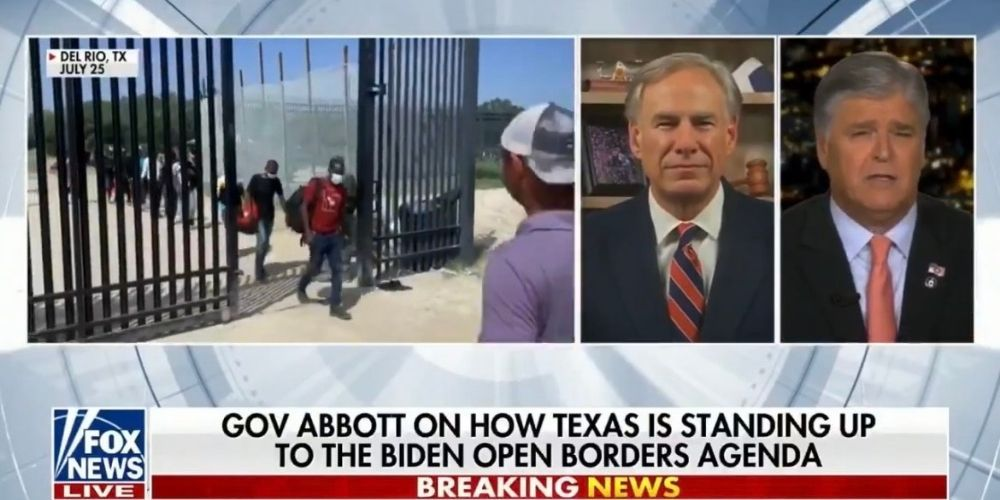 WATCH: Texas Gov. Greg Abbott discusses border crisis, COVID positive illegal immigrants on Hannity