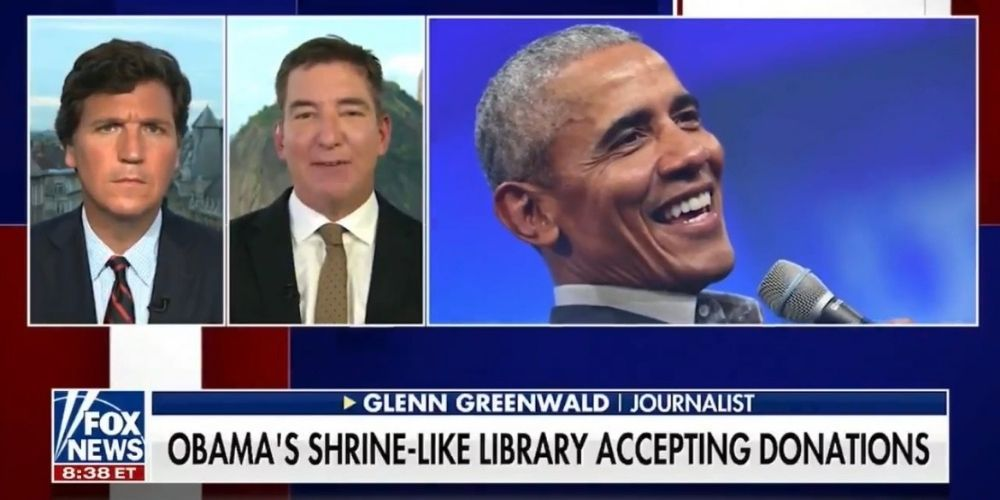WATCH: Glenn Greenwald and Tucker Carlson discuss Obama scaling back his extravagant birthday bash after criticism