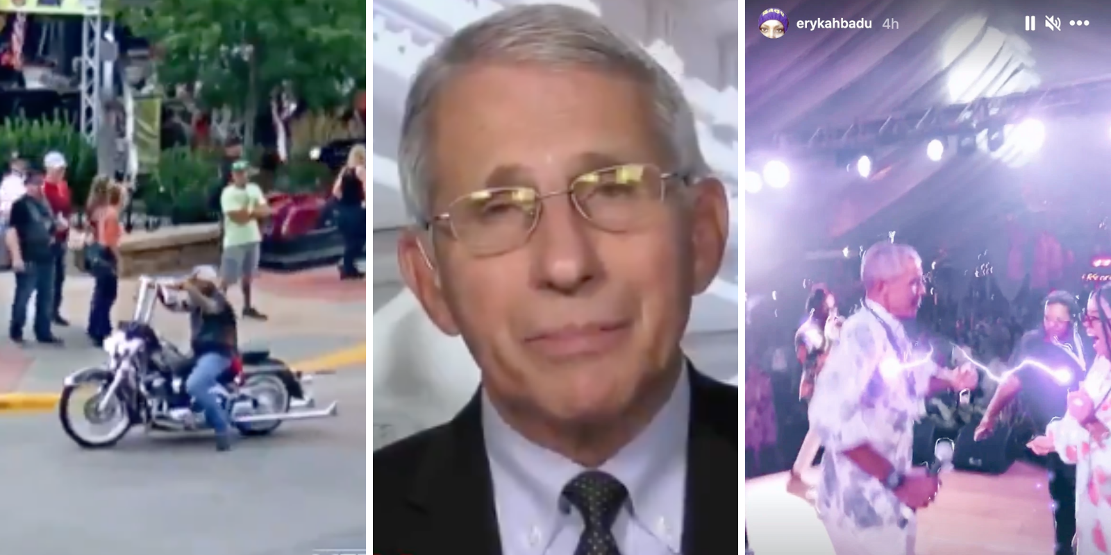 Fauci slams Sturgis Motorcycle Rally but is silent on Obama's 60th birthday mega-bash