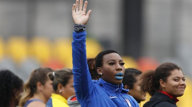 American Olympian to protest if she medals to 'represent the oppressed people'