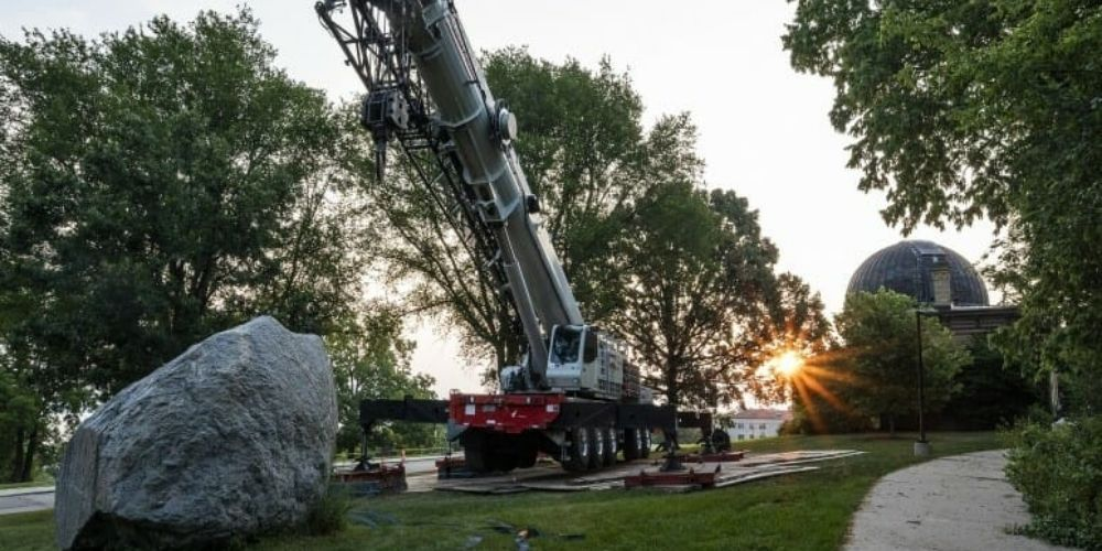 University of Wisconsin-Madison removes two-billion-year-old rock because of 'racism'