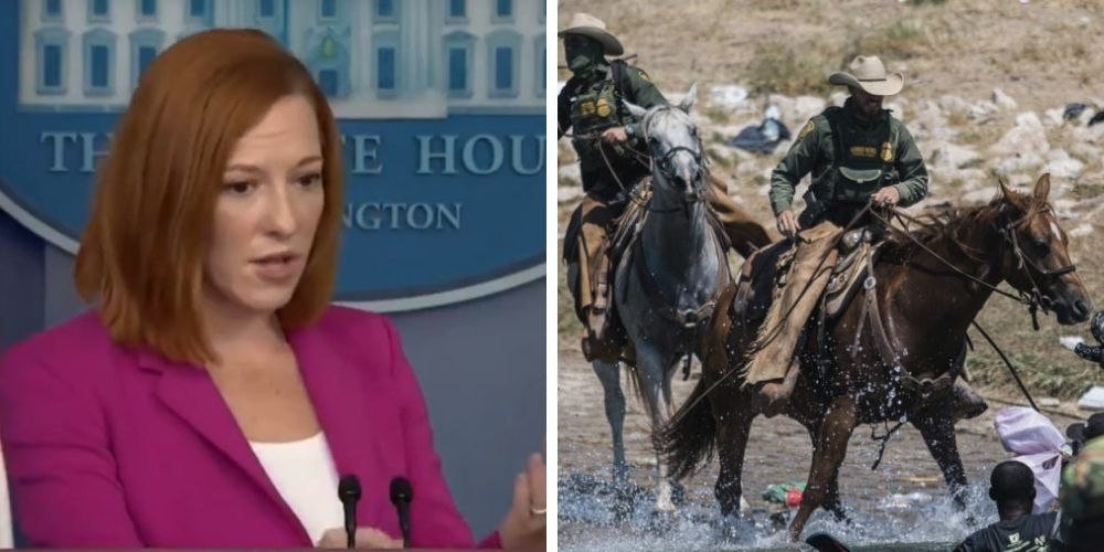 Biden admin bans horses at border after false claims that agents used 'whips' against Haitian migrants
