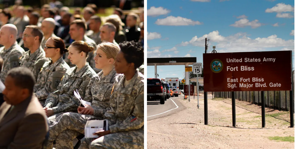 Female service member reportedly assaulted by Afghan refugees at Fort Bliss