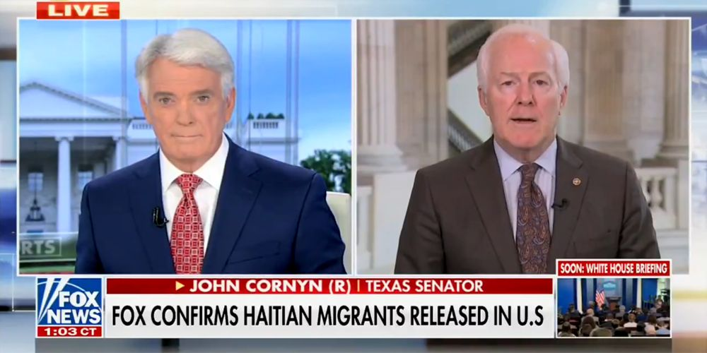 Cornyn reacts to Biden admin's 'say one thing, do another' approach on border crisis