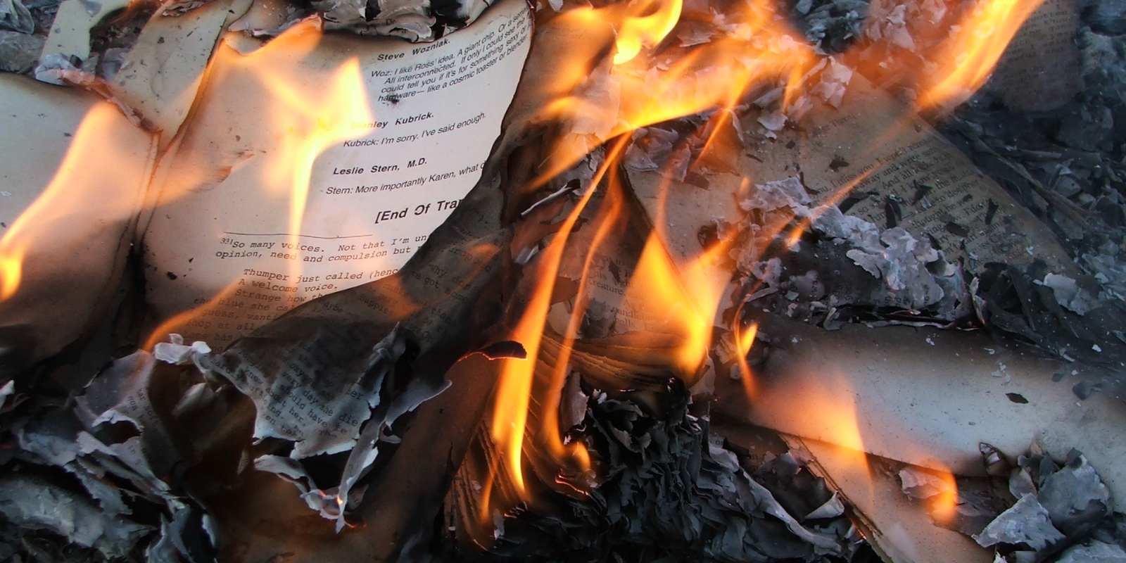 Ontario schools hold book-burning ceremony for 'reconciliation'