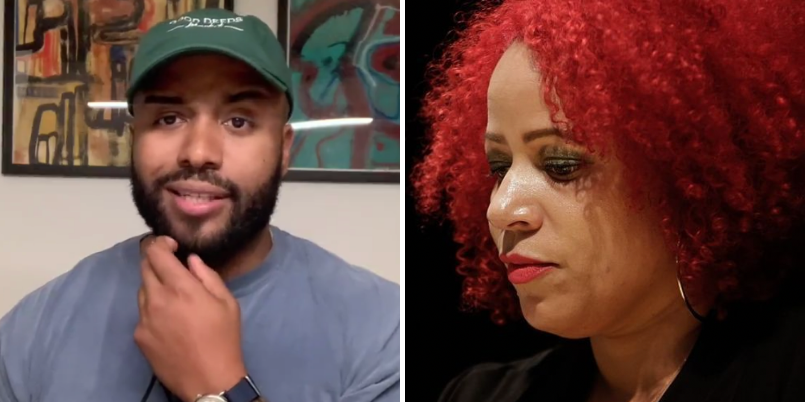 1619 Project founder Nikole Hannah-Jones criticizes black activist's cancellation of white woman over 'racism' in viral dog park video