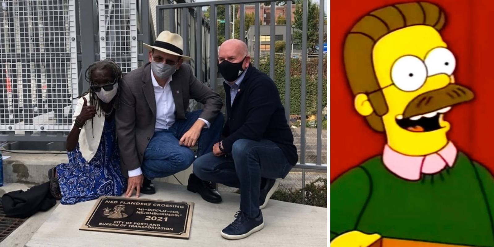 Portland names new bridge after Simpsons character Ned Flanders