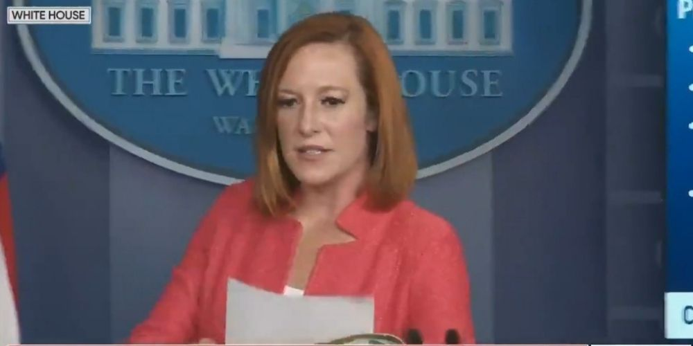 WATCH: Psaki snaps at reporter after being asked about Biden's plummeting poll numbers