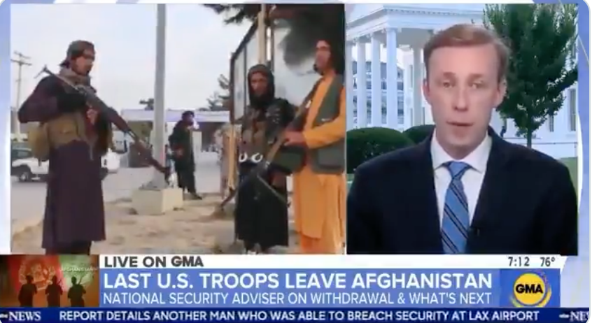 WATCH: National Security Advisor lays out plans for providing aid to Taliban-led Afghanistan