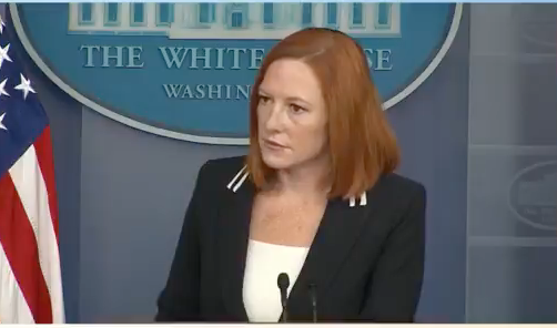 BREAKING: Psaki accidentally admits that men can't get pregnant