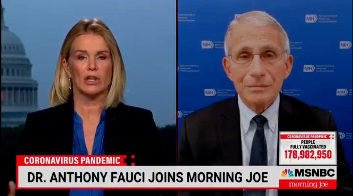 WATCH: Fauci says plan to require proof of vaccination for domestic travel 'is on the table'
