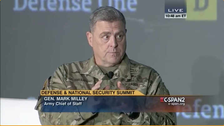 FLASHBACK: General Milley rants about how China is 'not an enemy'