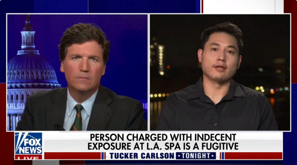 WATCH: Andy Ngo reveals latest details in the Wi Spa indecent exposure case to Tucker Carlson