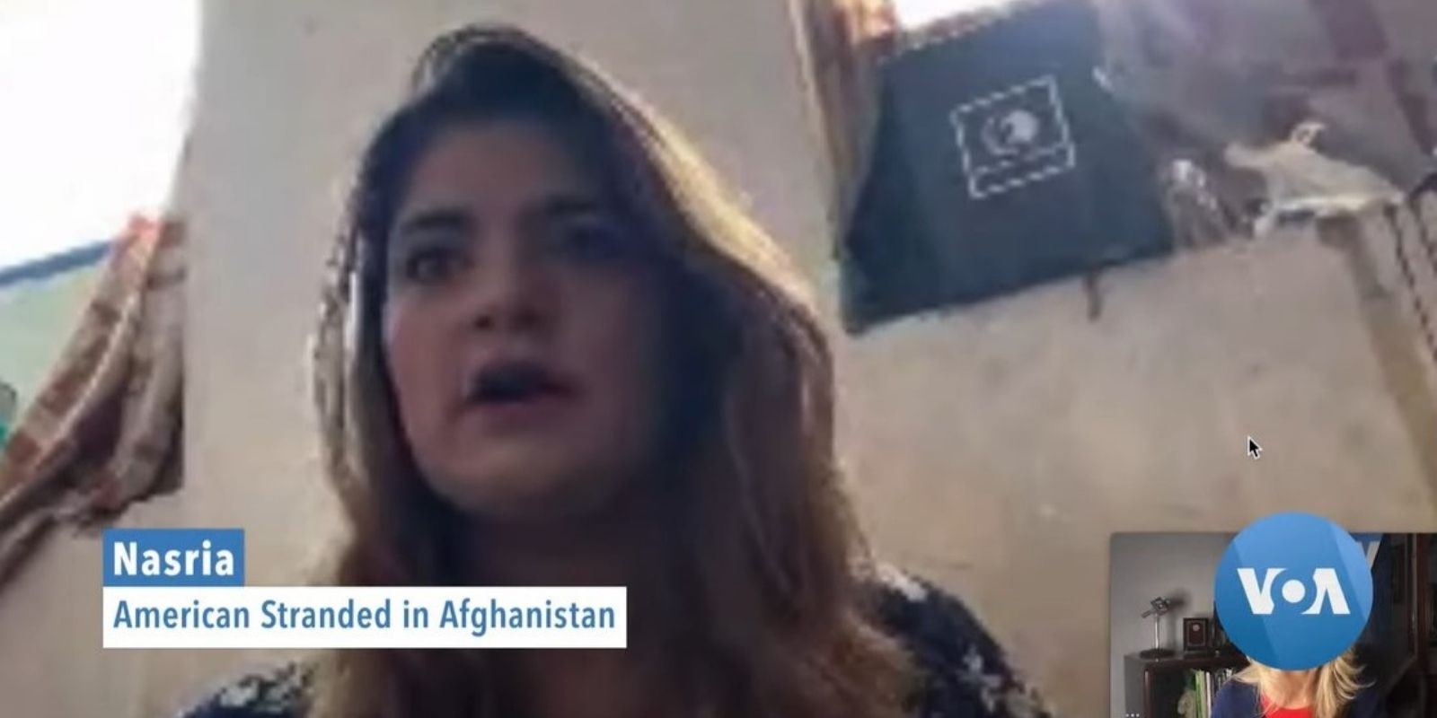 WATCH: Pregnant American woman stranded in Afghanistan says she fears for her life